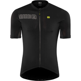 Alé Cycling Solid Color Block Maillot Manga Corta Hombre, black